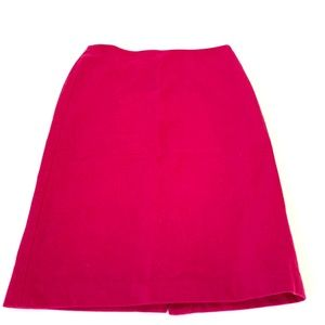 Talbots New Double Faced Wool Pencil Skirt size 4